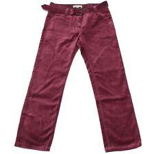 5942M pantaloni bimba velluto BURBERRY pantalone trousers pants kids