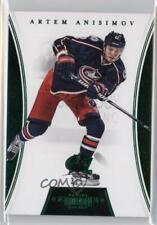 2012 Panini Dominion Emerald 13 Artem Anisimov Columbus Blue Jackets Hockey Card