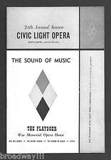 "Florence Henderson ""SOUND OF MUSIC"" Rodgers & Hammerstein 1961 Playbill"
