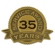 PinMart's 35 Years of Service Award Lapel Pin