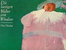 NICOLAI DIE LUSTIGEN WEIBER DE WINDSOR LEICESTER PIEDRA BUENA LENZ HEGER 3-LP
