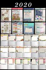 2020 Calendar Family Organiser Shopping List Pen Memo Calendar Xmas Tallon