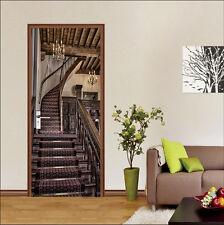 3d Loft SCALE 423 Porta Murale Parete Photo Wall Sticker Decal Muro Carta Da Parati AJ UK