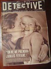 Détective 1957 ILE DE Ré MONTIGNY OSTREVENT WATTRELOS