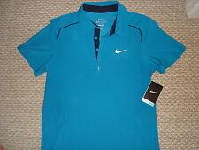 NWT Nike Federer RF Trophy Raglan Tennis Polo Shirt Nadal NEW 424964-425 S / L