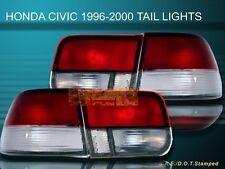 96-99 00 HONDA CIVIC LX/EX/SI 2D/2DR RC OEM TAIL LIGHTS