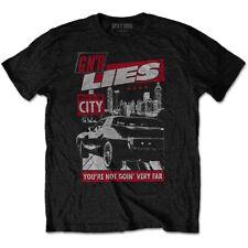 Guns n' Roses Lies Move To The City erkend T-shirt voor mannen