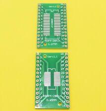 Adattatore PCB Board SOP28 SO28 SOIC 28 TSSOP 28 MSOP 28 a DIP28 Convertitore FAI DA TE PIASTRA