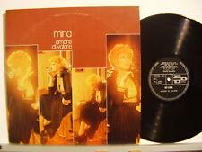 MINA disco LP 33 g AMANTI DI VALORE copertina a busta ITALY Carlo Pes CALIFANO