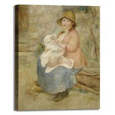 Renoir maternità design quadro stampa tela dipinto telaio arredo casa