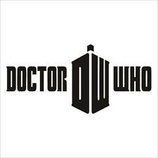 Decal Vinyl Truck Car Sticker - Doctor Who Tardis Logo