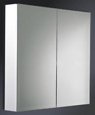 Bathroom Shaving Medicine Cabinet with Pencil Edge Mirror & Adjustable Shelf