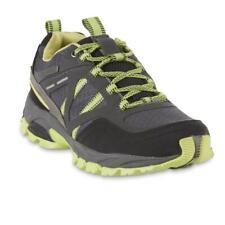 Northwest Territory Men's Loris Gray Green Black Hiking Shoe Mesh syn suede