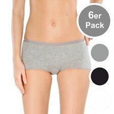 6er Spar-Pack Schiesser 95/5 Damen Unterhosen Slip Short 145007 - Baumwolle