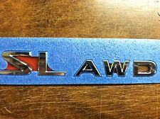 "NEW OEM 2008-2012 ROGUE 2011-2012 JUKE REAR GATE EMBLEM ""SL AWD"" EMBLEM"