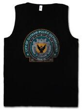 GOTHAM POLICE DEPARTMENT LOGO TANK TOP DEPT TV Serie Dark Knight Batman Polizei