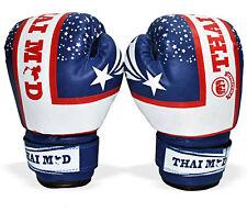 PRO in Pelle Guantoni Da Boxe, MMA, sparring Punch Sacco, Guanti di addestramento MUAY THAI