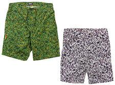 Wesc Men's Iggy Board Shorts Swim Shorts Bathing Suit - Green and Ash