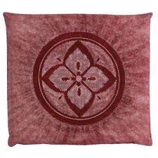 Zabuton Japanese floor cushion pillow cover Meisen Hana kanoko 55x59cm any color