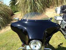 """Harley 6"""" Windshield Light Tint – / FLH  FLHT FLHX / Bagger / 1996 - 2013"""