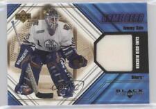 2000-01 Upper Deck Black Diamond Game Gear #B-TS Tommy Salo Edmonton Oilers Card