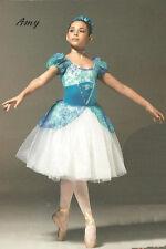 Amy Dance Costume Romantic Ballet Tutu Princess Dress Clearance Child X-Small