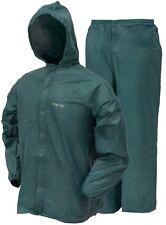 Frogg Toggs Ultra Lite 2 Rain Suit w/ Storage Bag GREEN UL12104-09 CHOOSE SIZE