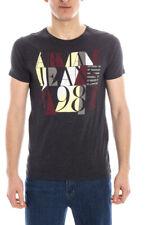 T-shirt Maglietta Armani Jeans AJ Sweatshirt -50% Uomo Grigio A6H36ZX-E2 SALDI