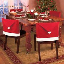 Copri Sedia Decorazione Natale 6 pezzi Tavola Christmas Chair Cover CHAIRS01 P