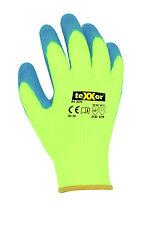 teXXor Acryl 2270 Warnschutz Winterhandschuhe Thermo Arbeitshandschuhe Neon Gelb