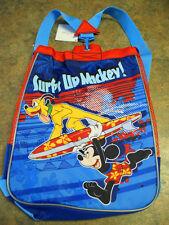 New Disney Store Mickey Surf's Up Swim Beach Backpack