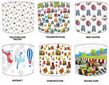 Pantallas de Lámpara Para Combinar Niños TRANSPORTES Edredones & adhesivo pared