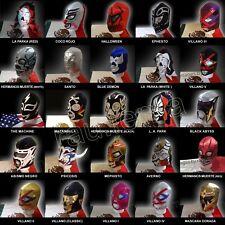 Lucha mask Santo Blue Demon Abismo La Parka LA Park Psicosis Coco Rojo