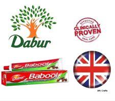 Dabur Babool PASTA DENTÍFRICA ENCÍAS saludables lucha contra los gérmenes ayurvédico vegetarain halal