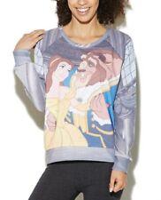 NEW Wet Seal Disney Junior Raglan Pullover Long Sleeve Top Shirt Sweater