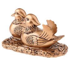 Kreative Hochzeitsgeschenke Kupfer oder Gold Mandarin Enten für glückliche