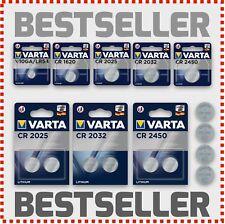 Varta CR1620 CR2025 CR2032 CR2450 LR54 Batterie 1,5-3V Volt Bulk Blister