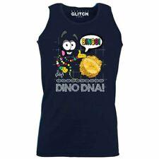 Mens Bingo Dino DNA Vest - Dinosaur TV Gift Xmas Raptor