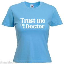 Doctor Ladies Lady Fit T Shirt 13 Colours Size 6 - 16