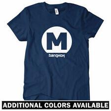 Bangkok Metro Women's T-shirt S-2X - Thai Thailand Gift Subway Logo Train MRT