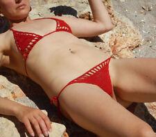 crochet mini bikini thong G string beach micro swimwear Sexy Lingerie Sets