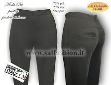Pantalone donna capri a pantaleggins autunnale Moda Più Prestige art. 700
