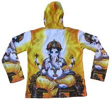 Lord GANESH GANESHA Hindu Mantra Gott Goa Party DJ Tattoo Art Hoodie T-Shirt M