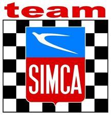 TEAM SIMCA Sticker