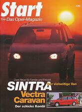 Opel Start 4/96 Sintra Chevrolet Trans Sport Rekord P1 Frontera Vectra Caravan