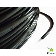 Black 4/6mm Air Line Aquarium Fish Tank Pond Air Pump Hose Pipe Tube Koi PVC