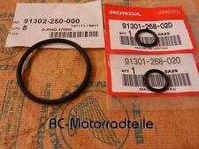 Honda CB 550 four bombas rodamiento sellado anillos aceite bomba GASKET SET oil Pump New