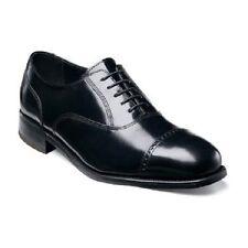 Florsheim Men's Shoes Lexington Cap Toe Black Leather Lace Up Dressy 17067-01