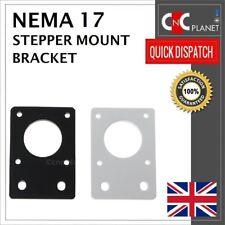 Nema 17 42mm Stepper Motor Mount Flat Bracket Plate Alloy CNC 3D Printer UK FAST