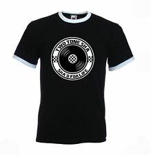 Ska 2 Tone Men's Ringer T-shirt - Specials Madness Mod Skinhead